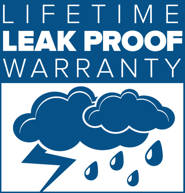 Lifetime leakproof warranty