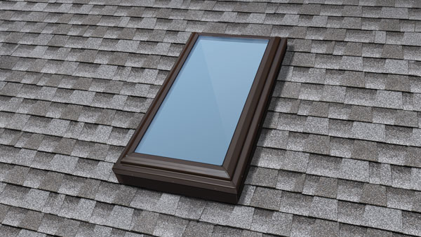 Installed skylight